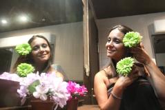 Un montón de flores juntas, la morena la más bella